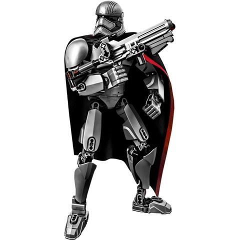 Bộ xếp hình Lego Star Wars 75118 - Đại Úy Phasma sau khi hoàn thành