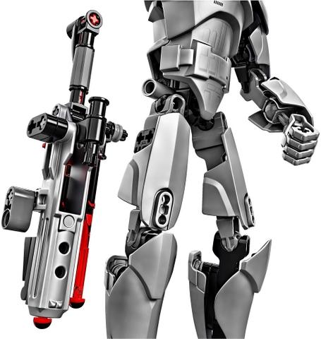 Bộ xếp hình Lego Star Wars 75118 - Đại Úy Phasma dành cho bé từ 7 - 14 tuổi