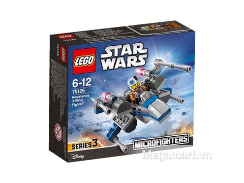 Vỏ hộp đựng đồ chơi Lego Star Wars 75125 - Phi Thuyền Chiến Đấu X-Wing