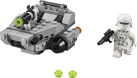 Trọn bộ các chi tiết có trong mô hình Lego Star Wars 75126 - Tàu Trượt Tuyết của Tổ Chức Thứ Nhất
