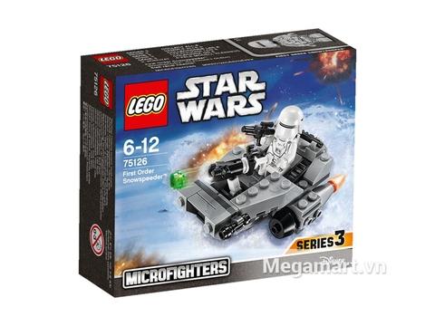 Hỉnh ảnh vỏ hộp đựng sản phẩm Lego Star Wars 75126 - Tàu Trượt Tuyết của Tổ Chức Thứ Nhất