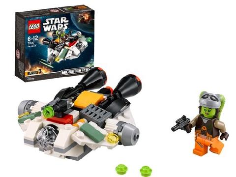 Bộ mô hình Lego Star Wars 75127 - Phi Thuyền Bóng Ma với những chi tiết được thiết kế chuẩn xác, gắn kết chắc chắn.