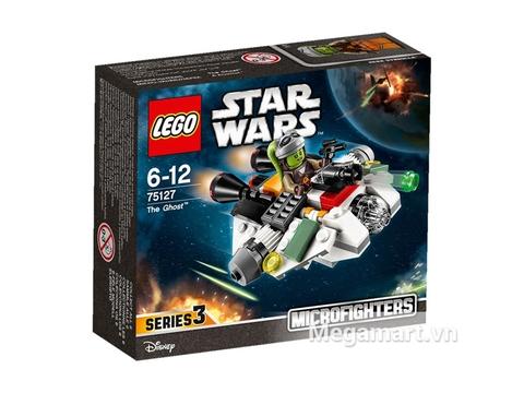 Vỏ hộp đồ chơi Lego Star Wars 75127 - Phi Thuyền Bóng Ma