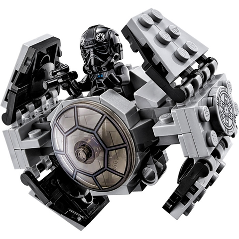 Bộ xếp hình Lego Star Wars 75128 - Phi Thuyền Cao Cấp Tie giúp trau dồi kỹ năng cho bé