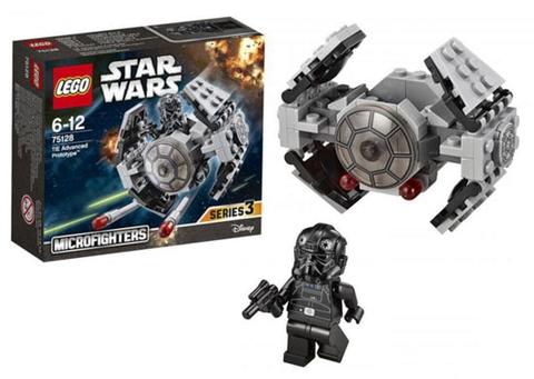 Các chi tiết trong bộ sản phẩm Lego 75128