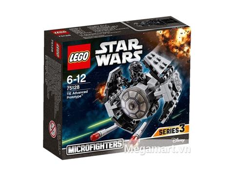 Vỏ hộp đựng sản phẩm Lego Star Wars 75128 - Phi Thuyền Cao Cấp Tie
