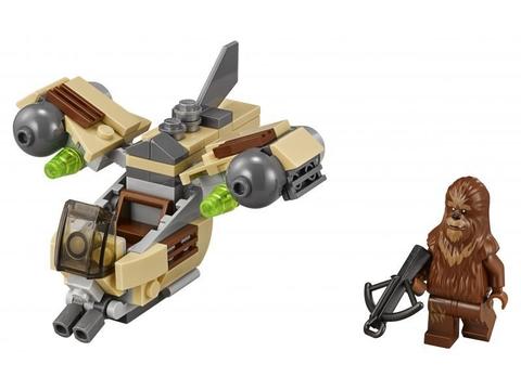 Trọn bộ mô hình Lego Star Wars 75129 - Phi Thuyền Chiến Đấu Của Wookiee sau khi lắp ráp xong