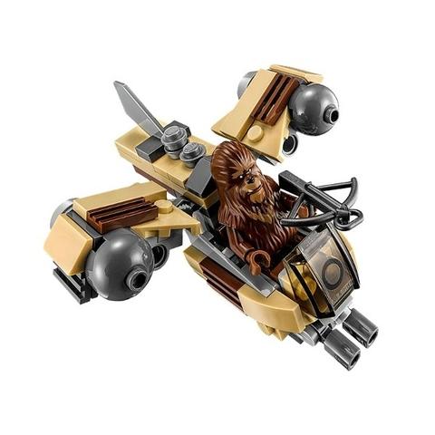 Phi thuyền chiến đấu của Wookie được trang bị tân tiến không thua kém những phương tiện khác
