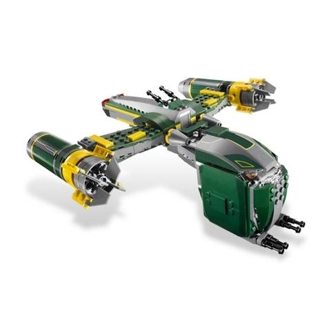 Bộ xếp hình Lego Star Wars 7930 - Bounty Hunter™ Assault Gunship thử thách cho bé từ 8 - 14 tuổi