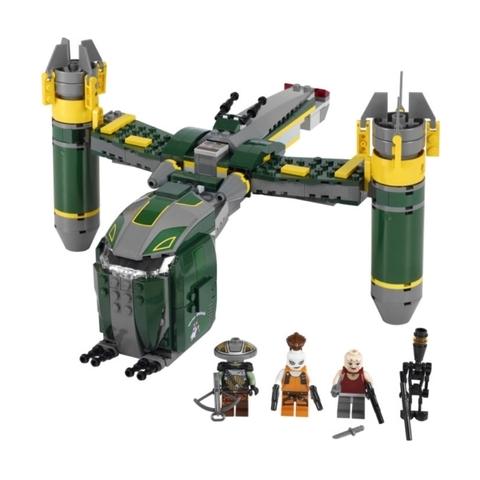 Trọn bộ chi tiết có trong Lego Star Wars 7930 - Bounty Hunter™ Assault Gunship