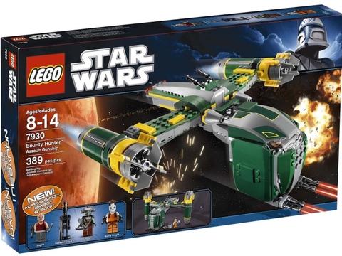 Vỏ hộp bộ xếp hình Lego Star Wars 7930 - Bounty Hunter™ Assault Gunship