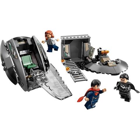 Mô hình hoàn chỉnh của đồ chơi Lego Super Heroes 76009 - Cuộc tẩu thoát của Black Zero
