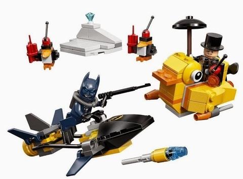 Trọn bộ chi tiết có trong Lego Super Heroes 76010 - Trận chiến với Chim cánh cụt
