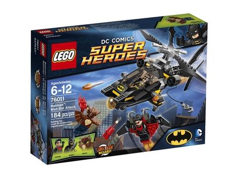 Hình ảnh vỏ hộp bộ Lego Super Heroes 76011 - Man-Bat Attack