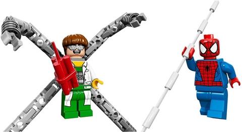 Các nhân vật xuất hiện trong bộ xếp hình Lego Super Heroes 76015 - Doc Ock cướp xe chở tiền