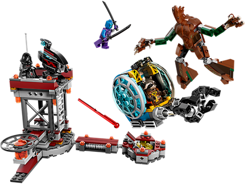 Lego Super Heroes 76020 - Nhiệm Vụ Trốn Thoát dành cho các bé trai 6-12 tuổi với nhiều chi tiết hấp dẫn