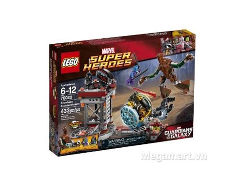 Hộp đựng bộ đồ chơi Lego Super Heroes 76020 - Nhiệm Vụ Trốn Thoát