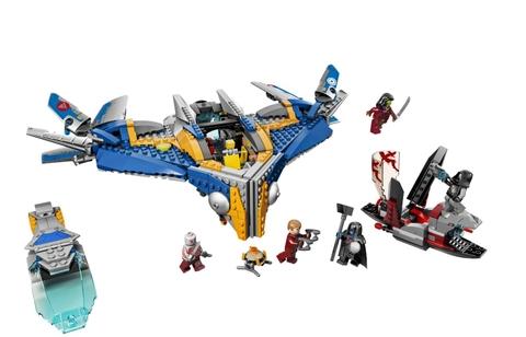 Trọn bộ mô hình Lego Super Heroes 76021 - Giải Cứu Phi Thuyền Milano