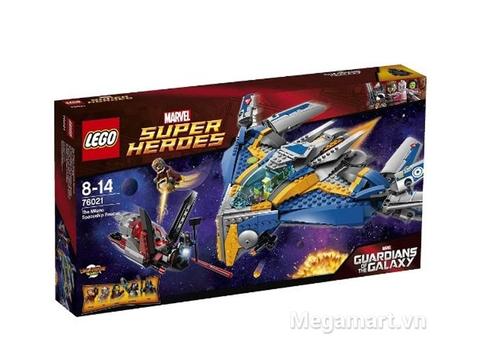 Hộp đựng đồ chơi Lego Super Heroes 76021 - Giải Cứu Phi Thuyền Milano