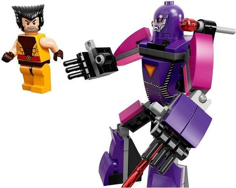 Các nhân vật trong bộ đồ chơi xếp hình Lego Super Heroes 76022được trang bị vũ khí mới và hiện đại