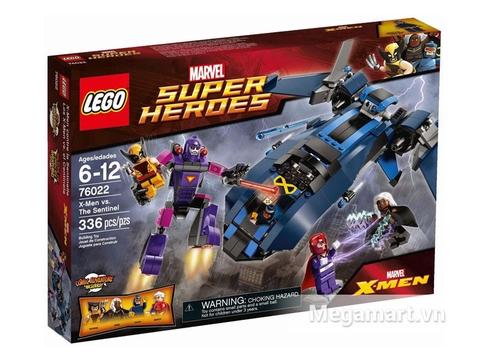 Hình ảnh vỏ ngoài của Lego Super Heroes 76022 - Dị Nhân Đương Đầu Lính Canh