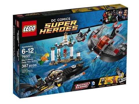 Vỏ hộp Lego Super Heroes 76027 - Cuộc Tấn Công Dưới Đáy Đại Dương