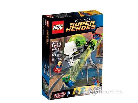 Vỏ hộp Lego Super Heroes 76040 - Cuộc Tấn Công Của Brainiac