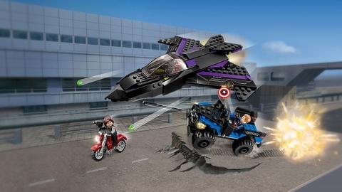 Trọn bộ các chi tiết trong Lego Super Heroes 76047 - Vụ Trộm Nguy Hiểm Chết Người