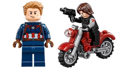 Bộ xếp hình Lego Super Heroes 76047 - Vụ Trộm Nguy Hiểm Chết Người, cho bé được làm anh hùng