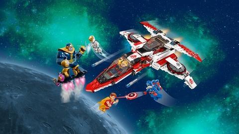 Nhiệm vụ hấp dẫn với bộ xếp hình Lego Super Heroes 76049 - Cuộc Chiến Dải Ngân Hà