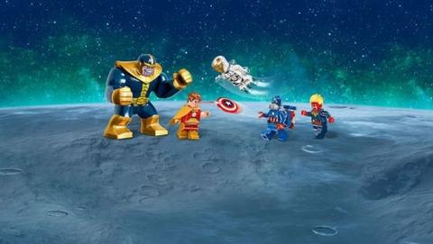 Đồ chơi Lego Super Heroes 76049 - Cuộc Chiến Dải Ngân Hà cho bé gặp mặt các siêu anh hùng
