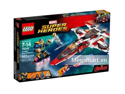 Vỏ hộp đựng Lego Super Heroes 76049 - Cuộc Chiến Dải Ngân Hà