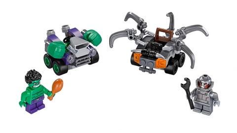 Lego Super Heroes 76066 - Người Khổng Lồ Xanh Đại Chiến Ultron - các chi tiết có trong sản phẩm