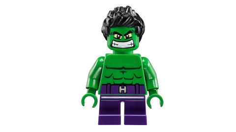 Lego Super Heroes 76066 - Người Khổng Lồ Xanh Đại Chiến Ultron - nhân vật Hulk