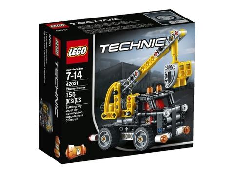 Hình ảnh vỏ hộp bộ Lego Technic 42031 - Xe Nâng