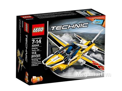 Hình ảnh vỏ hộp bộ Lego Technic 42044 - Biệt Đội Phản Lực Trình Diễn