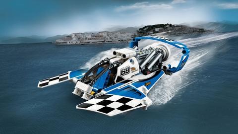 Lego Technic 42045 - Tàu Bay Đua - mô hình hoàn thiện