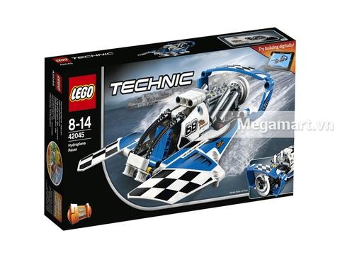 Ảnh bìa sản phẩm Lego Technic 42045 - Tàu Bay Đua
