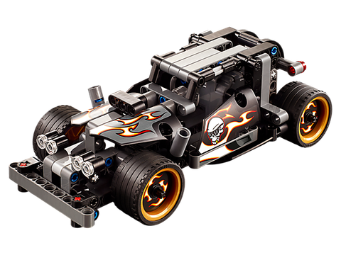 Các mô hình ấn tượng trong bộ Lego Technic 42046 - Xe Đua Đường Phố