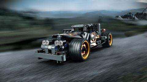 Lego Technic 42046 - Xe Đua Đường Phố - mẫu xe tham gia vào cuộc đua