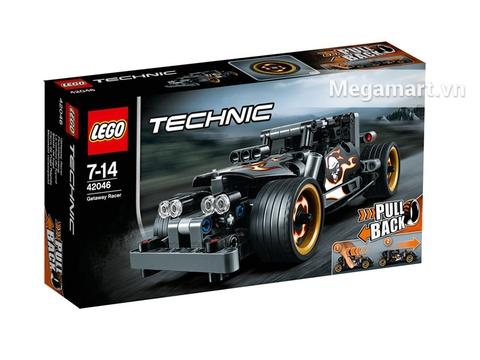Vỏ sản phẩm Lego Technic 42046 - Xe Đua Đường Phố