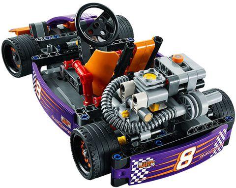 Các mô hình ấn tượng trong bộ Lego Technic 42048 - Xe Đua Thể Thức 1 Mini