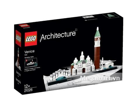 Vỏ hộp đựng sản phẩm Lego Architecture 21026 - Thành Phố Venice
