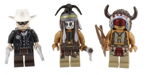 Cho bé vừa vui chơi, vừa phát triển kỹ năng với bộ xếp hình Lego The Lone Ranger 79107 - Thăm trại Comanche