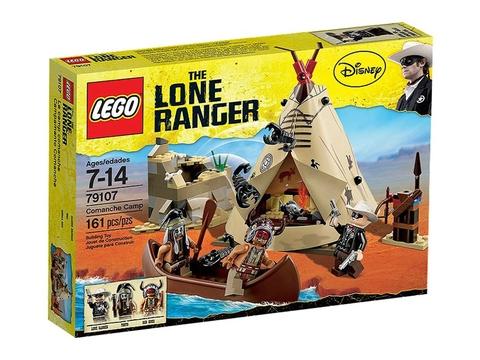 Hình ảnh vỏ hộp đựng sản phẩm Lego The Lone Ranger 79107 - Thăm trại Comanche