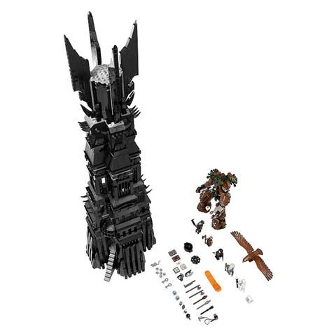 Toàn bộ các chi tiết có trong sản phẩm Lego The Lord of the Rings 10237 - Tháp Orthanc