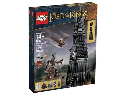 Hình ảnh vỏ hộp bên ngoài Lego The Lord of the Rings 10237 - Tháp Orthanc