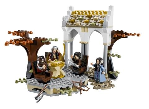Bộ đồ chơi xếp hình Lego The Lord of the Rings 79006 - Bộ tộc Elrond sẽ mang đến cho bé những trải nghiệm và khám phú thú vị chưa từng thấy với khung cảnh bộ phim nổi tiếng cùng tên