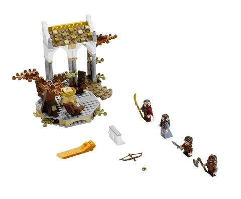 Tron bộ các chi tiết có trong bộ xếp hình Lego The Lord of the Rings 79006 - Bộ tộc Elrond