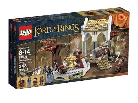 Hình ảnh vỏ hộp đựng bên ngoài sản phẩm Lego The Lord of the Rings 79006 - Bộ tộc Elrond